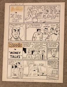 Archie Original Art Page 1960