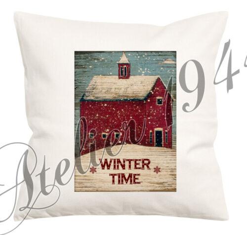 BÜGELBILD-Vintage-Shabby-Nostalgie-Winter-Weihnachten-3011