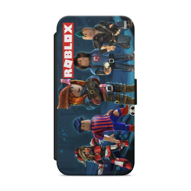 sports shoes 22147 66116 Roblox Gaming Kids WALLET FLIP PHONE CASE COVER FOR IPHONE SAMSUNG 02
