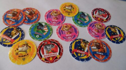 Paw Patrol Free Shipping Pre Cut One Inch Bottle Cap Images