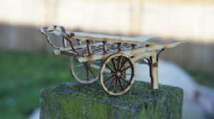 16mm scale Costermongers Hand Cart Kit Ip engineering laser cut  Garden railway