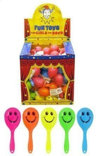 Sac parti Fillers bébé 18 Smiley mini Maracas enfants enfant jouets