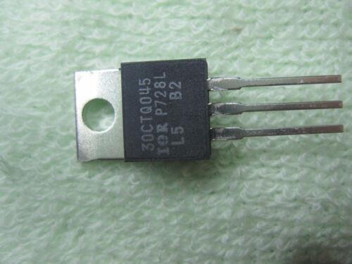 1 Piece New IOR IR 30CTQ045 TO220 Transistor