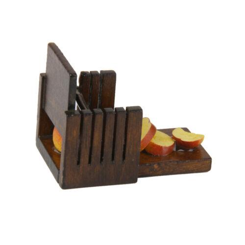 Brot Laib Toast Slicer Cutter Mold Maker Puppenhaus Küche Schneidwerkzeuge