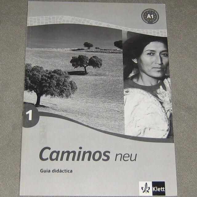 Caminos neu 1 (A1) Spanisch Guia didactica Klett didaktische Anleitung Sprache