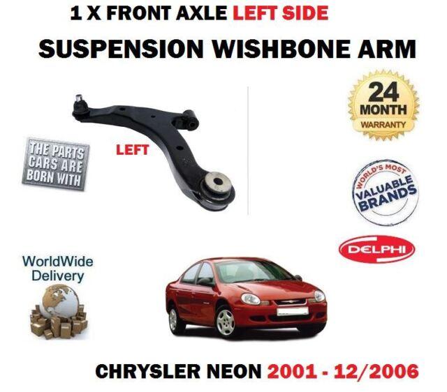 Pour Chrysler Neon 1.6 1.8 2.0 2001->1X avant Gauche Bras Suspension Inférieur