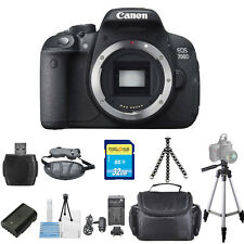 Canon EOS 700D / T5i Body Only 18MP STARTER BUNDLE! Brand New!!