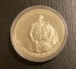 1982 S 50c George Washington Commemorative Silver Half Dollar Coin Choice Proof