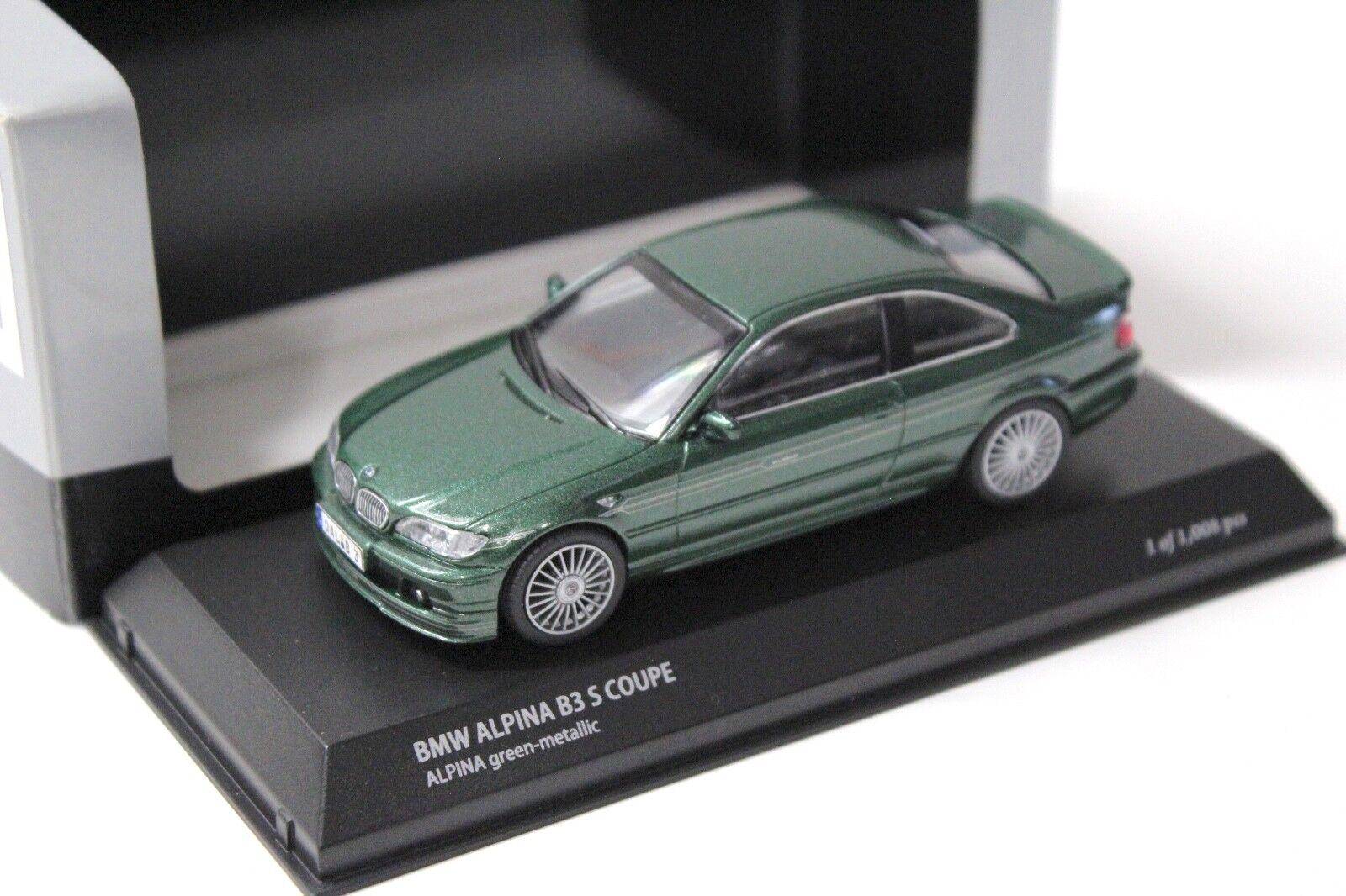 1 43 43 43 Kyosho BMW 3er Alpina B3 S Coupe green NEW bei PREMIUM-MODELCARS 130074