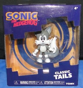 Sonic The Hedgehog Tomy Classic Black White Tails Figure 2 Brand New In Box 53941225285 Ebay