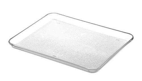 Glasschale Teller rechteckig 341x266x23mm für Mikrowelle mit Grill