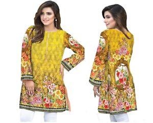 9ea235dd1f5 Image is loading Ladies-Kurti-Kurta-Pakistani-Indian-Khaddi-Asim-Jofa-
