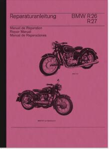 BMW-R-26-27-Reparaturanleitung-Werkstatthandbuch-Montageanleitung-Repair-Manual