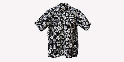 New ANDAMAN Handmade 100/% Cotton Beach Top Hawaii Shirt Mens Aloha Short Sleeved