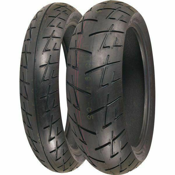 Shinko 009 Raven 120 70 Zr 17 Front 180 55 Zr 17 Rear Motorcycle Tire Set For Sale Online Ebay