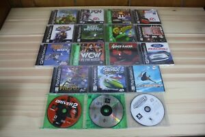 Lot-of-18-PS1-Games-Bugriders-CoolBoarders-2-Dave-Mirra-Freestyle-Frogger