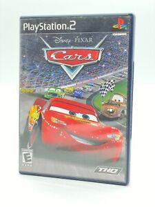 DISNEY Pixar Cars Playstation 2 PS2 CiB Complete TESTED