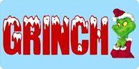 Grinch License Plate