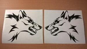 LARGE-L-R-vinyl-car-stickers-tribal-wolf-head-flames-side-graphics-decals-bonnet