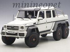 AUTOart 76303 MERCEDES BENZ G63 6X6 1/18 MODEL CAR MATTE WHITE