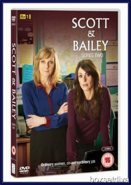 SCOTT & BAILEY SERIES 2 - COMPLETE SERIES 2 *BRAND NEW DVD *