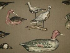 Braemore GOUVERNER BAY DRIFTWOOD Mallard Ducks Drapery Upholstery Sewing Fabric