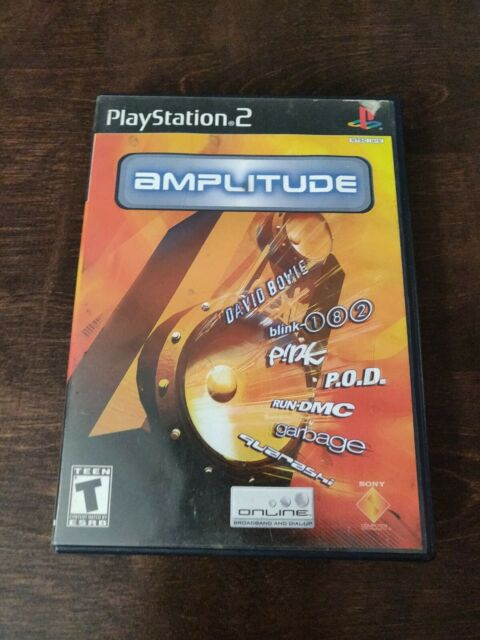 Amplitude Playstation 2 Game PS2. CIB, Clean Disk. Complete