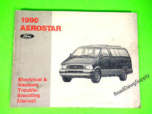 details about 1990 ford aerostar electrical wiring diagrams service manual book  1990 ford aerostar wiring diagram #8