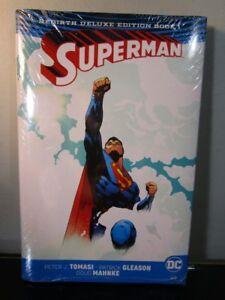 DC Comics Rebirth Superman Deluxe Edition Book 1 HC New in Wrap~