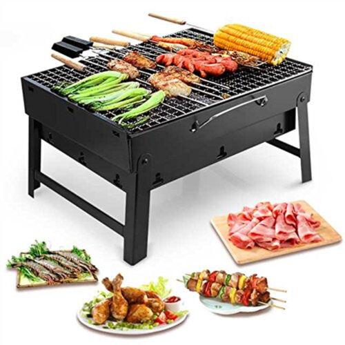 Pliante Barbecue Portable Camping Extérieur Jardin Grill chaleur charbon de bois camping
