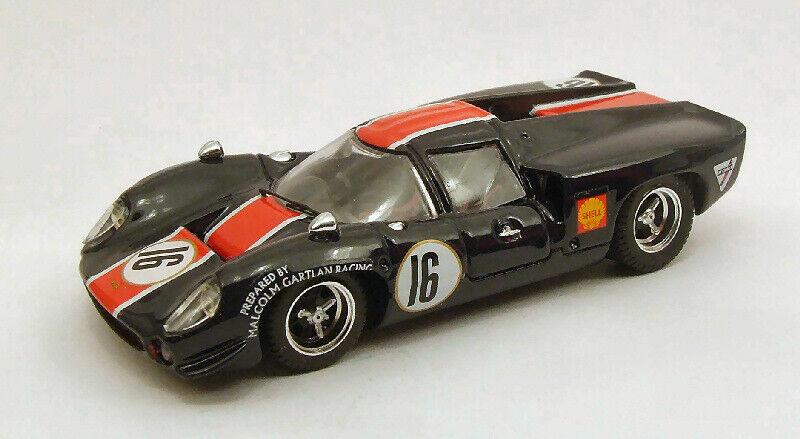 Lola T70 Coupe'  16 Retirosso Norisring 1969 B. Muir 1 43 modello BEST modelloS