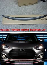 For 2012 ~ HYUNDAI VELOSTER TURBO FRONT BUMPER LIP GENUINE PART UNPAINTED