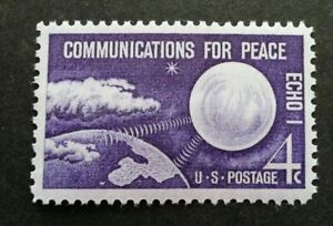 [SJ] USA Communication For Peace 1960 Space Astronomy (stamp) MNH