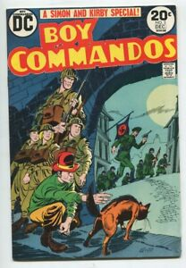 Boy-COMMANDOS-2-DC-Joe-Simon-Jack-Kirby-WAR-Comic-VF