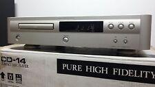 Marantz CD-14 Premium Gold Superb High-End CD Player *MINT CONDITION*