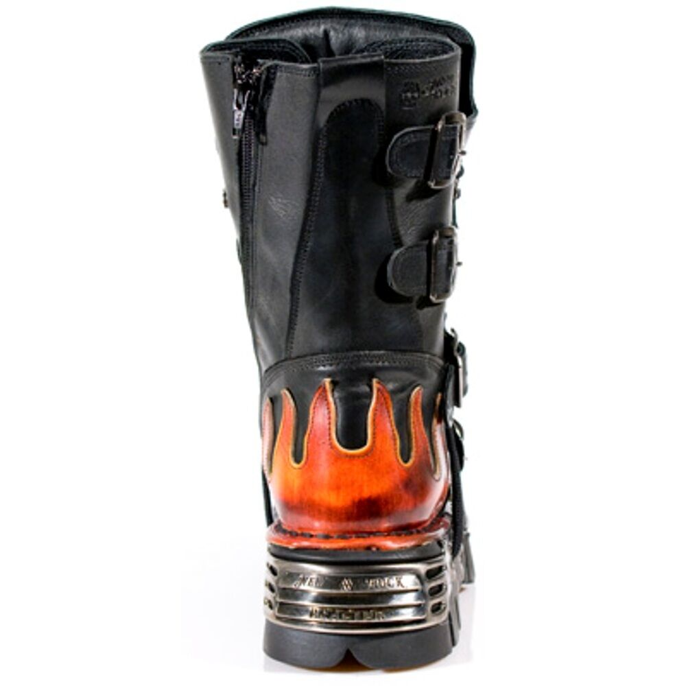 New Rock S1 Stiefel Unisex Style 107 S1 Rock ROT b483d0