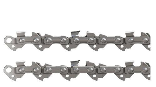 """Sägekette Set 2x für Stihl 30cm Schwert 3//8/""""H 44 Treibg 1,1mm Nutbr Kettensäge"""