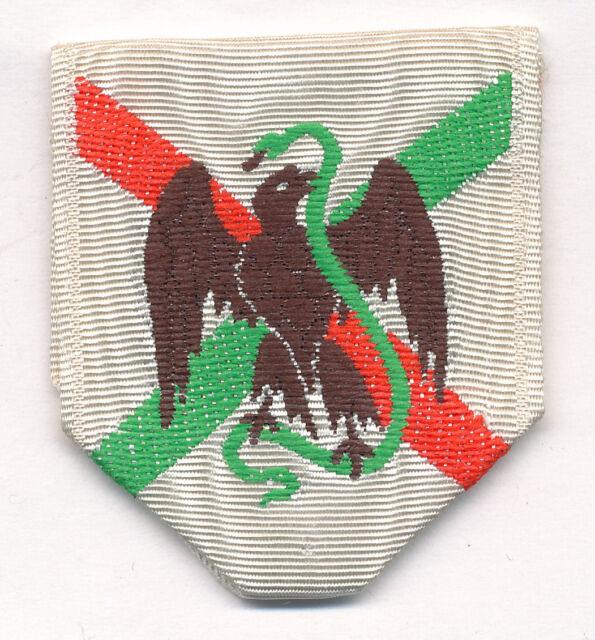 Ruban de la médaille pour l'expédition du Mexique 1862 - 1863.