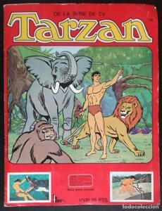 Album-Tarzan-FHER-Panrico-Contiene-139-cromos-4-de-ellos-de-la-parte-Panrico