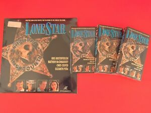 Lone-Star-ORIGINAL-SKULL-AND-BADGE-PERFECT-COLLECTION-Screener-VHS-LD-NEW