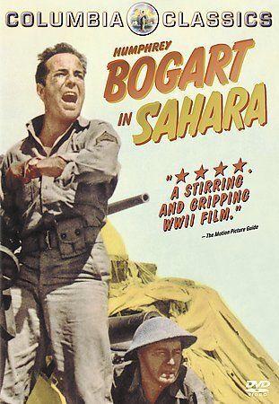 Sahara DVD, 2001 Humphrey Bogart STILL SEALED - $8.90