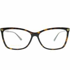 Authentic Gucci Gg0025o 002 Havana GG 0025o Eyewear Eyeglasses