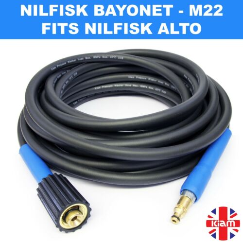 10 M NILFISK Haute Pression Rondelle Tuyau Jet Power Wash FITS NILFISK Modèles C130