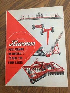 Kewanee /'64 Buyer/'s Guide Color Brochure Elevator Mill Auger 16 pg Original MINT