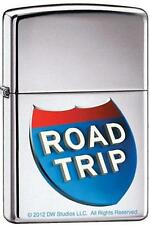Zippo 9232 road trip movie high polish chrome Lighter