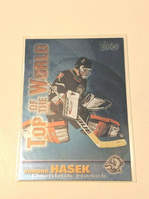 1999-00 Topps Top of the World #TW16 Dominik Hasek Buffalo Sabres Hockey Card