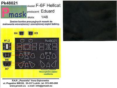 Model Maker 1//48 GRUMMAN F6F HELLCAT Kabuki Tape Paint Mask Set for Eduard Kit