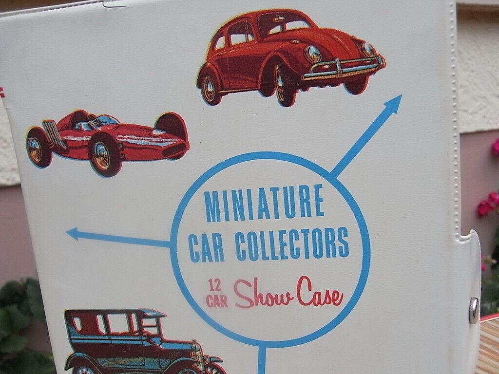 Orig. 1966 Mattel Mini US Car Collection 5010  12 Car Plastic Vitrine VW Käfer