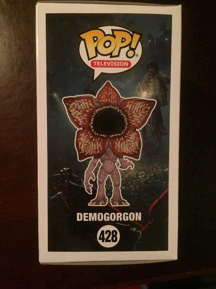 Funko Pop  DEMONGORGON Stranger Things NEW NEW NEW IN BOX Closed Head RARE CHASE VARIANT 853562