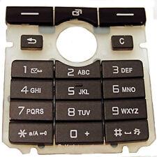 Tastatur Tastenmatte  Keypad in Schwarz für Sony Ericsson K750i